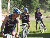 Fin de la primera sección de BTT. Para muchos, la mejor ruta de bici de su vida... - Foto: raidseries.com