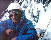 1967, escalando la cara norte de las Grandes Jorasses. - Foto: Col. Jordi Pons