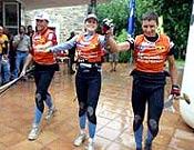 Les Arcs-Quechua recuperó el control de las Raid Series 2003 con un contundente dominio en Guara. - Foto: raidseries.com