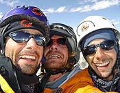 El satisfecho trío hispano-suizo. Ahora, Eternal flame es un poco más libre. - Foto: Toni Arbonés