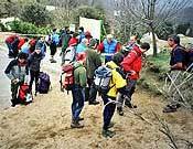 Los predecesores. Cataluña acogió el primer curso oficial el pasado mes de abril. En la imagen, los aspirantes en las pruebas de acceso. - Foto: Manel de la Matta