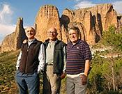 José Manuel Anglada, Joan Cerda Y Paquito Guillamón asistieron a la celebración del 50º aniversario del Puro.  ~ Archivo Desnivel