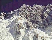 Pilar sureste del Nuptse, que rechazó la tentativa de Babanov y Suviga. - Foto: babanov.com