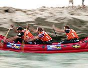 Las pruebas de canoa serán decisivas en Nueva Caledonia.  Foto: raidseries.com