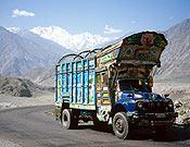 Vista del Nanga Parbat desde la Karakorum Highway. - Foto: Oscar Casero