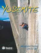 Portada de Yosemite, último libro de Alex Huber, con fotografía de Heinz Zak.