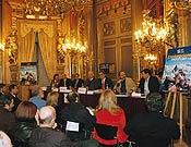 Acto de presentación del libro Exploraciones españolas de hoy, en la Casa de América (Madrid), el pasado 2 de diciembre. - Foto: Archivo Desnivel