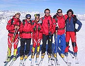 La selección FEDME de Esquí de Montaña para el circuito internacional 2004. - Foto: fedme.es