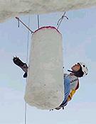 "Ines Papert se midió con los mejores en Kandersteg. Foto: <a href=""http://www.ice-time.com"">ice-time.com</a>"