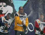 Podio final de Pirena 2004 en trineos. Foto: Filloy & Associats