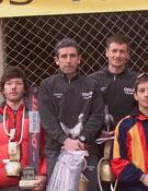 M. Rodríguez y F. Navarro, bien secundados en el podio.- Foto: CEPS
