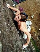 "Dave MacLeod en la zona de Glen Nevis (UK). - Foto: Dave MacLeod/ <a href=""http://www.planetfear.com "">planetfear.com</a>"