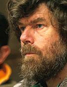 Reinhold Messner ya figura entre las adhesiones al Manifiesto por las Montañas de Aragón Alternativa Blanca. - Foto: Roberto Travesi
