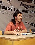 Daniel Orte, director del documental Mi último valle, que se estrenó en las Jornadas. - Foto: Ignacio Ferrando