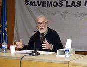 Eduardo citó durante su intervención a geógrafos clásicos como Élisée Reclus. - Foto: Ignacio Ferrando