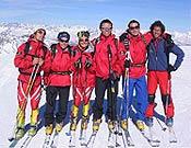 Parte del brillante equipo FEDME que ha competido en Val d