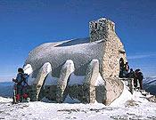 Refugio Zabala, camino de la cima de Peñalara. - Foto: Archivo Desnivel