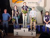 En lo más alto del podio femenino la sempiterna Sandrine Levet. La francesa está imponiendo su ley de nuevo este año.- Foto: mountain.ru