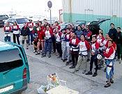 Participantes de la III edición de las 12 Horas de Escalada en el Peñón de Ifach.  - Foto: Carlos Tudela
