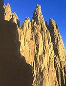 Paredes de Galayos. El sol no se dejó ver esta vez en la concentración de los jóvenes alpinistas.- Foto: Archivo Desnivel