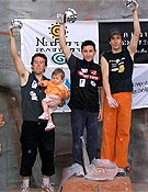 Podium masculino en Marbella. - Foto: top30.es