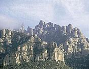Espectacular vista de Montserrat, en Barcelona.- Foto: Darío Rodríguez