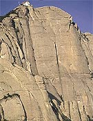 Vista de la pared del Aeri, Montserrat.- Foto: Darío Rodríguez