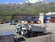 Aquí descansa la maquinaria que convertirá Espelunciecha en un agregado más de la estación de Formigal.- Foto: Plataforma en Defensa de las Montañas