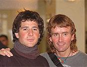 Alex Txicón e Iñaki Ochoa de Olza. - Foto: Darío Rodríguez