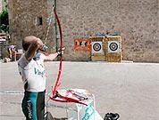 Sección de tiro con arco en Calatayud.- Foto: Raids Límite Rural