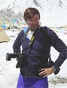 El reportero de Desnivel.com en el campo base del K2. - Foto: K2 Magic Line
