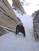 Como los aperturistas, Fowler y Saunders, Oscar, Chiro y Manolo han elegido el estilo alpino para su repetición. - Foto: guardiacivil.org