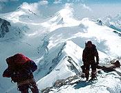 Cima del Liskhan, macizo del Valais. - Foto: Dioni Serrano