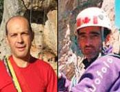 Juan Agulló y David Mora, coordinadores de la expedición.- Foto: FEMECV