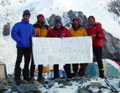 Miembros de Al Filo Foto: Expedición Al Filo de lo Imposible