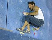 Daniel Dulac, reciente Campeón de Europa de bloque, fue tercero en Argentière. - Foto: planetmountain.com