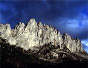 Panorámica de la cara Noreste del Grand Pfad.- Foto: Rikardo Otegui.