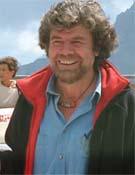 Messner en esta cita en el Monte Rite.- Foto: planetmountain.com