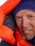 Jordi Corominas en la arista cimera de K2. - Foto: Exp. K2 Magic Line