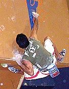 Dani Andrada blocando en el Campeonato de España 2004. ~ Foto MJ/top30.es