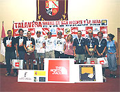 Podium final del Raid Talavera, Sierra de San Vicente y La Jara. - Foto: aventur.es