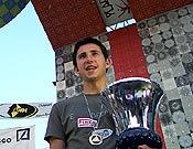 Ramón Julián en Lecco, después de proclamarse Campeón de Europa 2004 el pasado mes de junio. - Foto: Luis A. Félix