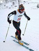 Emma Roca en Cerler, se llevó la primera prueba de la Copa 2004.- Foto: fedme.es