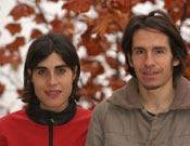 Josune Bereciartu y Ricardo Otegui- Foto: Archivo Desnivel