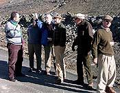 Los miembros del Comité Español MaB (Hombre y Biosfera) de la Unesco durante su visita e inspección al valle de Espelunciecha.</br>Foto: M. Polanco