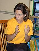 Lynn Hill volvió a visitar la Librería Desnivel. <br>Desnivelpress.com