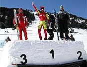 Cajón más alto del podium en Andorra para Agustí y Kilian. - Foto: fedme.es