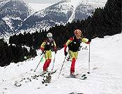 Emma Roca y Tina Bes, nuestra mejor baza por equipos. - Foto: fedme.es