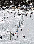 Pistas y esquiadores de la estación de Javalambre, perteneciente a la Sociedad Aramón. - Foto: aramon.es
