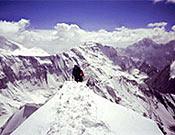 El Korgenevskaya cayó a primeros de agosto de 2004 para la alpinista gallega.  Foto: chuslago.com
